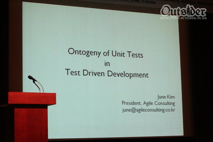 Ontogeny of Unit Tests in TDD