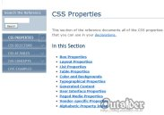 SitePoint CSS Reference 화면