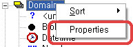 ERWin Domains Properties